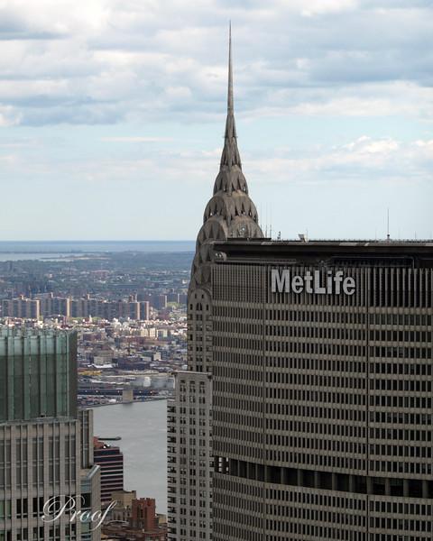 Chrysler and Met Life Buildings