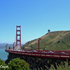 Golden Gate Bridge  and Lone Tree