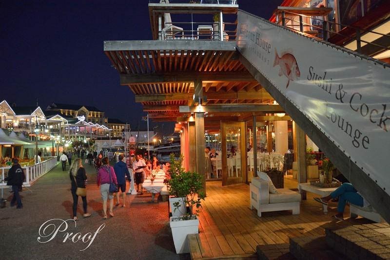 Nighttime on the Wharf