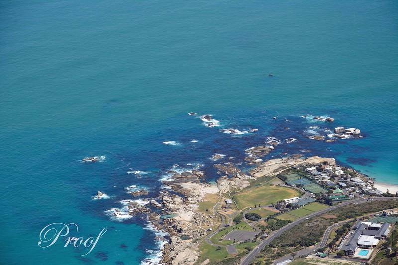 Ocean Rocks from Table Top