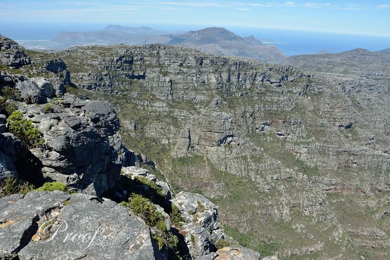 Table Top Mountain Range