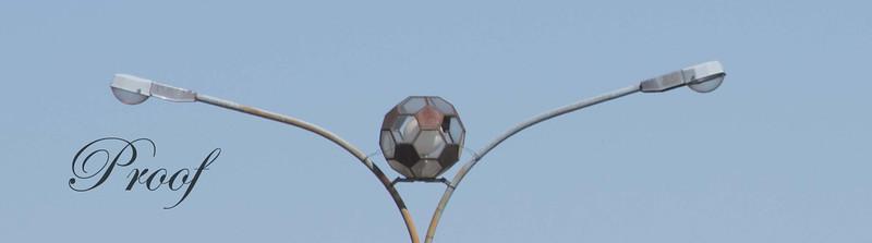 Street Light Soccer Ball