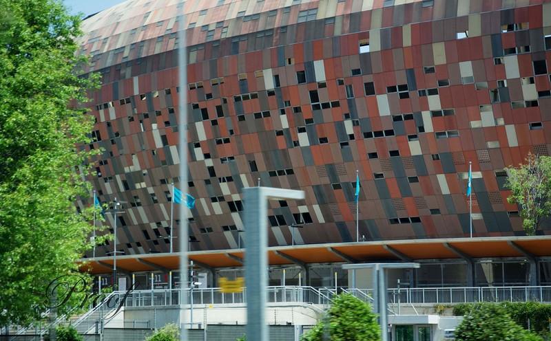 Air-Cooled Soccer City Stadium
