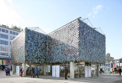 13 People's Pavilion Eindhoven (Niederlande | The Netherlands). bureau SLA & OvertredersW