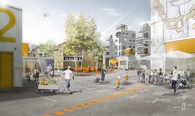 03 Städtebaulicher Wettbewerb, Kreativ Quarier München