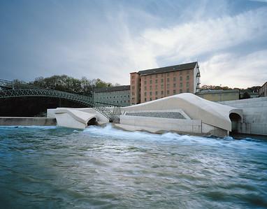 Wasserkraftwerk in Kemptenbecker architekten, KemptenFoto: Brigida Gonzales, Stuttgart