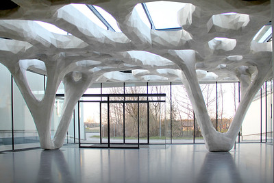 Erweiterung der Bauakademie SalzburgArchitekt: soma, WienFoto: Florian Hafele, Innsbruck