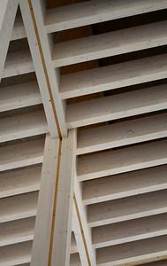 """Gymnasium in Diedorf. Architect: ARGE """"Diedorf"""": Hermann Kaufmann Architekten (Dornbirn) and Florian Nagler Architekten (München)"""