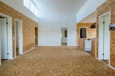 Einfamilienhaus in Nyborg (DK) 2013, Lendager Arkitekter. Durch konsequente Verwendung von Recyclingmaterialien wurden bei diesem Experimentalbau verglichen mit einer Standardkonstruktion über 80% der »grauen« CO2-Emissionen eingespart.