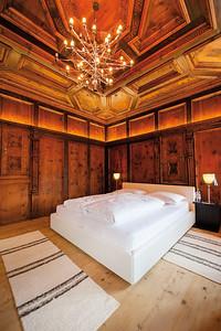 Historische Suite im Renaissance-Stil im Ansitz zumLöwen, Burgeis (I) Architekt: Architekten Marx/Ladurner, SchlandersFoto: Thomas Linkel, München