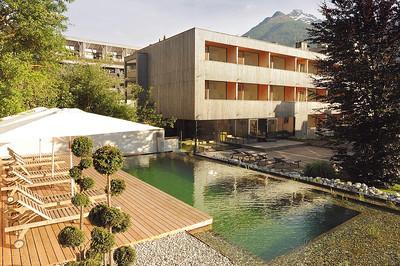 Neuer Anbau des Hotel Hinteregger, Matrei in Osttirol (A)Architekt: Madritsch PfurtschellerFoto: Wolfgang Retter, Lienz
