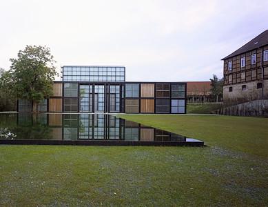 Christus-Pavillon im Kloster Volkenroda, DeutschlandChrist pavillon in the monastery of Volkenroda, Germany© Klaus Frahm / Jürgen Schmidt / Gerhard Aumer