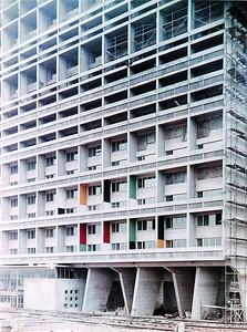 Unité d'Habitation Berlin. Baustellenfoto. ©2014 FLC, VG Bild-Kunst, Bonn