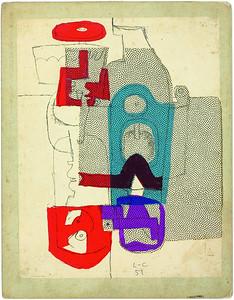 Studien für Tapisserien, 1951. ©2014 FLC, VG Bild-Kunst, Bonn