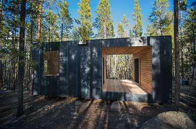 13 ColoradoBuildingWorkshop, Micro Cabins, Leadville, Colorado (USA) Cabins in the Rocky Mountains | Berghütten in den Rocky Mountains. Architekten:  ColoradoBuildingWorkshop