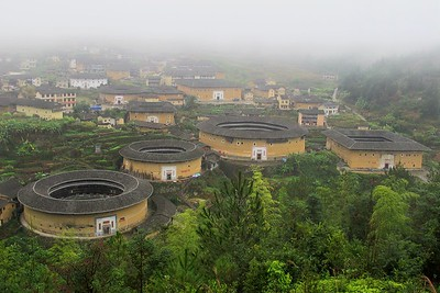 09 HOFHAUS. Fujian tulou, UNESCO Welterbe, China