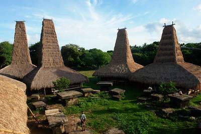 03 DORF VON RATENGGARO, Kodi Distrikt, West Sumba, Indonesien. In der Nähe vom Strand