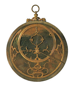 Ein Astrolabium.(c) Istituto e Museo di Storia della Scienza, Florence