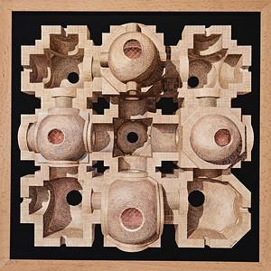 10 Grafische Komposition von Josep Esteve