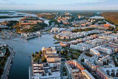 10 Hammarby Sjöstad, Stockholm (S) 1999–2018