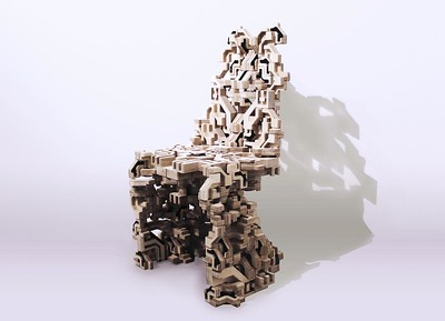 02 Chair Model, 2016