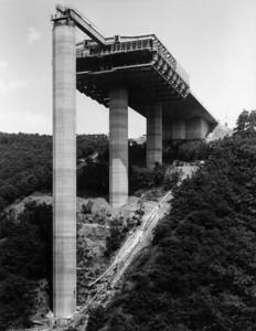 05 Bau der Elztalbrücke (D), Ulrich Finsterwalder, Herbert Schambeck