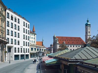 Louis Hotel. Viktualienmarkt. Foto © Michael Heinrich