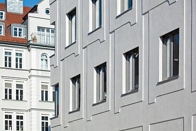 Welfenstraße. Relief Fassade. Foto © Michael Heinrich