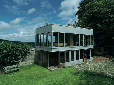 12 Alison & Peter Smithson. Upper Lawn Pavilion, Wiltshire , GB
