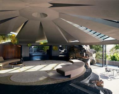 15 John Lautner. Elrod Residence, Palm Springs, Kalifornien, USA