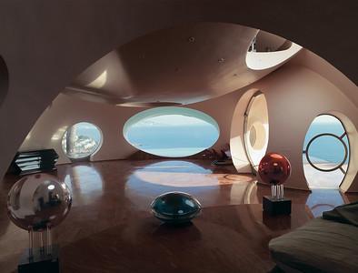 21 Antti Lovag. Palais Bulles, Cannes, F