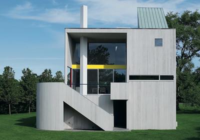 14 Charles Gwathmey. Gwathmey House & Studio, Hamptons, Long Island, USA