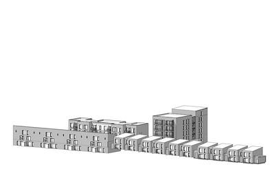 09  Wohnsiedlung in Rive-de-Gier, FR. | Housing estate in Rive-de-Gier, FR. Tectoniques Architectes
