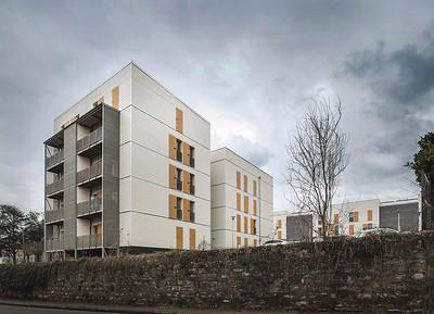 08  Wohnsiedlung in Rive-de-Gier, FR. | Housing estate in Rive-de-Gier, FR. Tectoniques Architectes