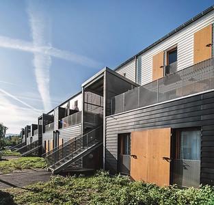 07 Wohnsiedlung in Rive-de-Gier, FR. | Housing estate in Rive-de-Gier, FR. Tectoniques Architectes
