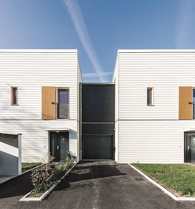 11  Wohnsiedlung in Rive-de-Gier, FR. | Housing estate in Rive-de-Gier, FR. Tectoniques Architectes