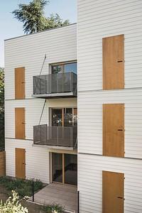 10  Wohnsiedlung in Rive-de-Gier, FR. | Housing estate in Rive-de-Gier, FR. Tectoniques Architectes