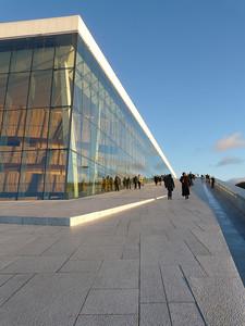 Oper in Oslo, 2008Architekten: SnøhettaFoto: Claudia Fuchs