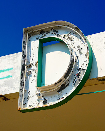 Abandoned donut shop