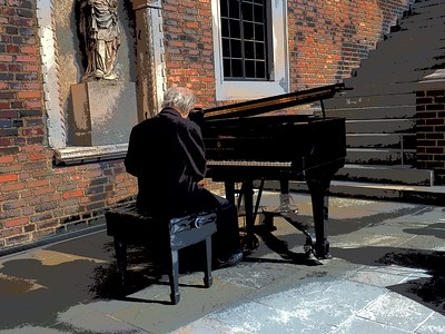 Piano player Detroit Institute of Arts