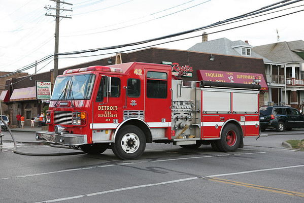 Detroit FD Apparatus July 2007
