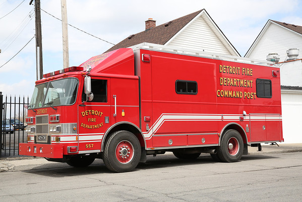 Detroit Fire Department Pierce Command Vehicle