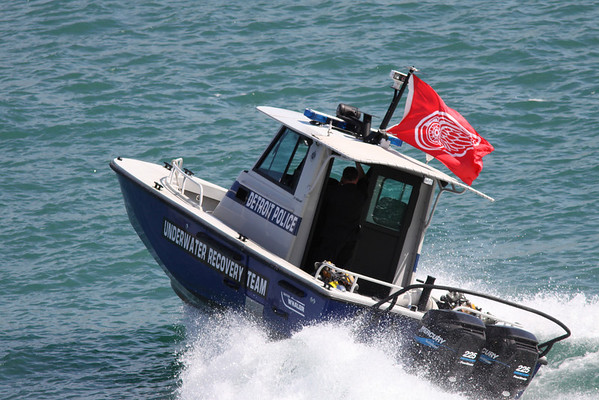 Detroit Police Boats June 2009