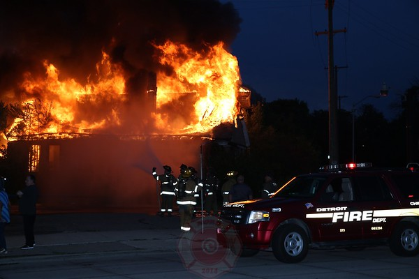 Box Alarm Gratiot and Ellery July 7, 2014