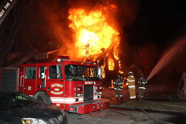 DETROIT FIRE DEPARTMENT FIRES - INCIDENTS