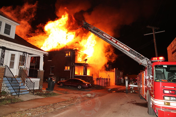 Box Alarm Michigan and Casper December 2014