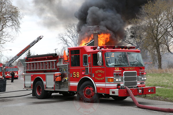 Box Alarm Phillip and Evanston April  2014