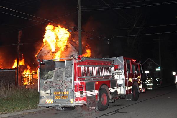 Detroit Fire Department Box Salarm November 2012
