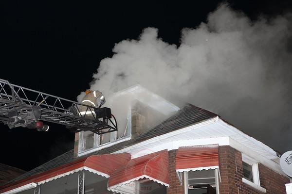 Detroit Fire Department Box Alarm West Grand Blvd September 2012