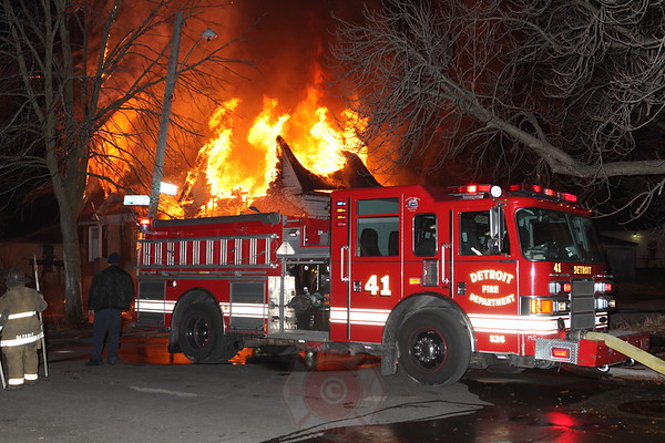 Detroit Box Alarm March 2013
